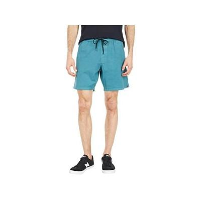 """ボルコム Steppen EW Shorts 17"""""""" メンズ 半ズボン Hydro Blue"""