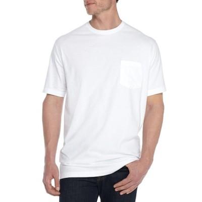 サドルブレッド シャツ トップス メンズ Big & Tall Short Sleeve Comfort Flex Stretch Jersey Tee Shirt -