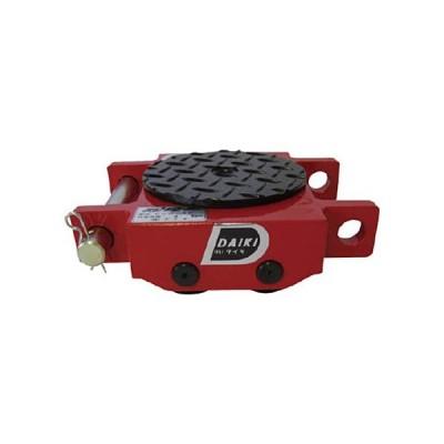 ダイキ スピードローラ低床ダブル型ウレタン車輪3t DUW−3S 1台 (お取寄せ品)
