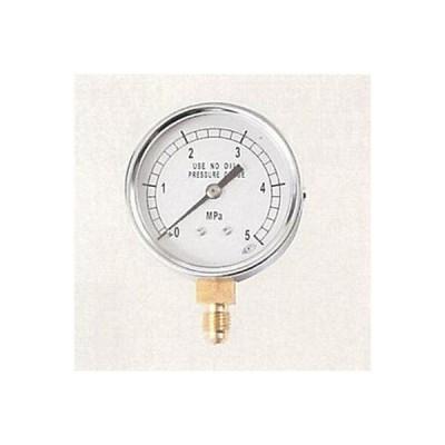 文化貿易工業:1/4フレアタイプ圧力計 <AF-1650> 型式:AF-1650