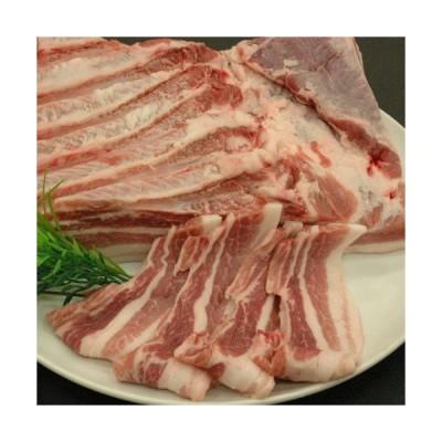 豚肉 もち豚秀麗 バラ肉 1kg (ブロック)