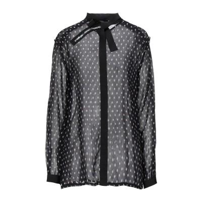 ディーゼル DIESEL シャツ ブラック L レーヨン 100% シャツ