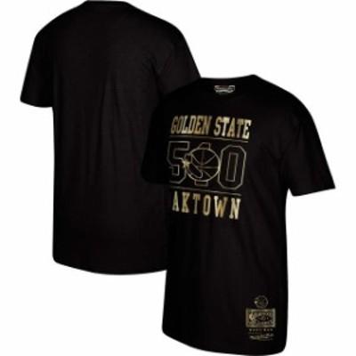 Mitchell & Ness ミッチェル アンド ネス スポーツ用品  Mitchell & Ness Golden State Warriors Black Area Code T-Shirt