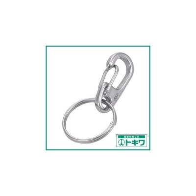 TRUSCO ミニクリップ 二重リング付き ステンレス製 #0 2個入 (TMPW-0) トラスコ中山(株)