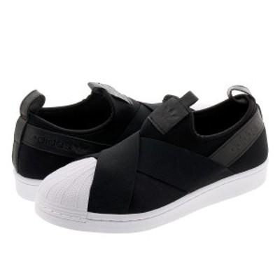 adidas SUPERSTAR SLIP-ON アディダス スーパースター スリッポン CORE BLACK/CORE BLACK/CORE BLACK fw7051
