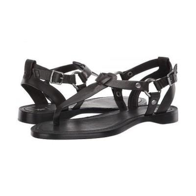 Frye フライ レディース 女性用 シューズ 靴 サンダル Rachel Ring T-Strap - Black