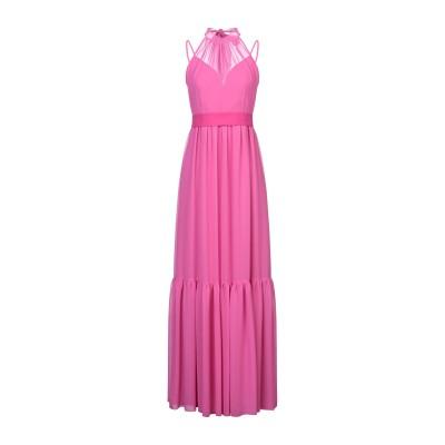 ADE' ロングワンピース&ドレス フューシャ 42 ポリエステル 100% ロングワンピース&ドレス