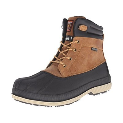 SKECHERS Work Men's Robards Brown Boot 10 D  Medium,Brown,10 M US