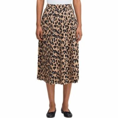ケイト スペード Kate Spade New York レディース ひざ丈スカート スカート Forest Feline Midi Skirt Silt