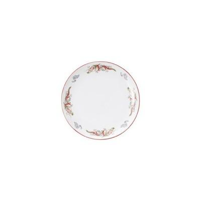 朱渕萬漢龍 10吋丸皿 中華食器 丸皿(M) 業務用 日本製 磁器 約26cm 単品メニュー用 大皿 中華皿 プレート 盛皿
