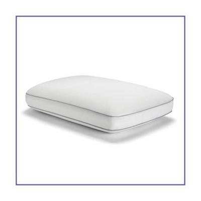 Sealy Essentials クール&コンフォート リバーシブル冷却枕 低反発素材 スタンダード/クイーンサイズ ホワイト