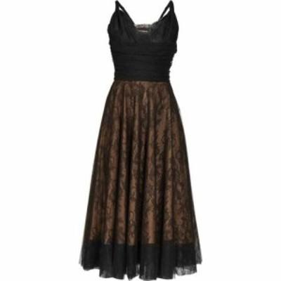 ロシャス Rochas レディース ワンピース ワンピース・ドレス Pralina Chantilly-lace and tulle dress Black