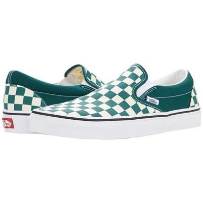 バンズ Classic Slip-On メンズ スニーカー 靴 シューズ (Checkerboard) Bistro Green/True White