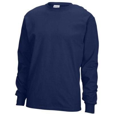 ギルダン Tシャツ メンズ トップス Team Ultra Cotton 6oz. TShirt Navy