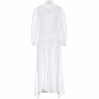 イザベル マラン Isabel Marant. Etoile レディース ワンピース ミドル丈 ワンピース・ドレス Albane linen midi dress White