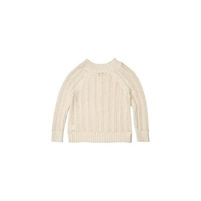 J.Crew Pointelle Wide Neck Beach Sweater レディース セーター Natural