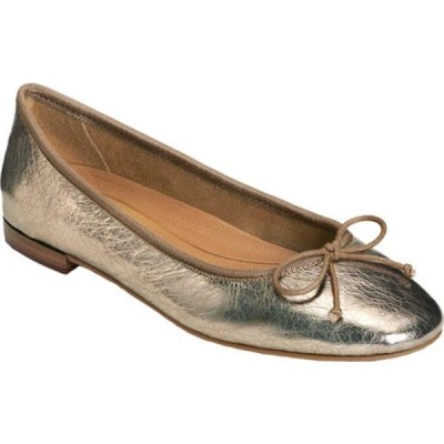 エアロソールズ サンダル シューズ レディース Platinum Homerun Ballet Flat (Women's) Champagne Metallic Leather
