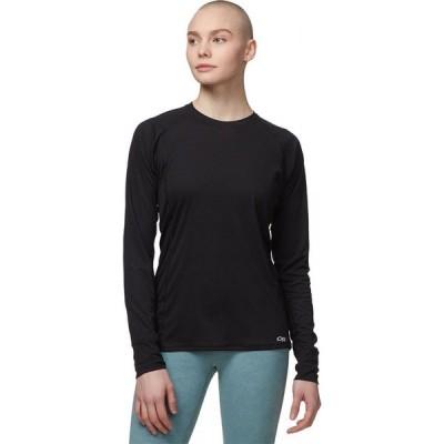 アウトドアリサーチ Outdoor Research レディース 長袖Tシャツ トップス Echo Long-Sleeve T-Shirt Black