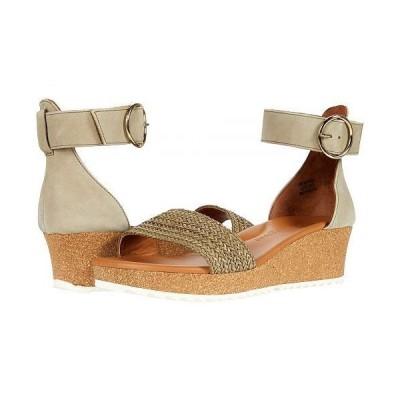 Paul Green ポールグリーン レディース 女性用 シューズ 靴 ヒール California Sandal - Hunter Woven Nubuck Leather