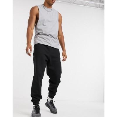 エイソス ASOS DESIGN メンズ ジョガーパンツ ボトムス・パンツ oversized joggers in black ブラック