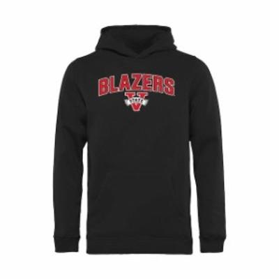 Fanatics Branded ファナティクス ブランド スポーツ用品  Valdosta State Blazers Youth Black Proud Mascot Pullover