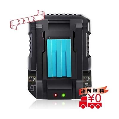 Gakkiti マキタ DC18RC 互換充電器 14.4V/18Vリチウムイオンバッテリ用 マキタ バッテリー BL1430 BL1440 BL1450 BL1460 BL1815 BL