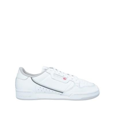 ADIDAS ORIGINALS スニーカー&テニスシューズ(ローカット) ホワイト 11 革 / 紡績繊維 スニーカー&テニスシューズ(ローカット)