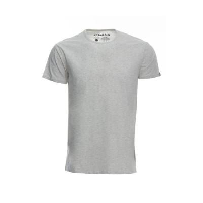 エックスレイ メンズ Tシャツ トップス Flex Crew Neck T-Shirt OATMEAL