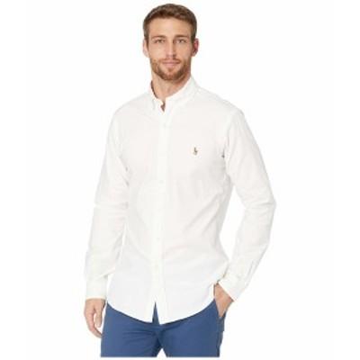 ラルフローレン メンズ シャツ トップス Stretch Fit Oxford Sport Shirt Bsr White