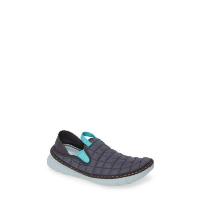 メレル MERRELL レディース スニーカー シューズ・靴 Hut Quilted Moc Sneaker Ebony Fabric