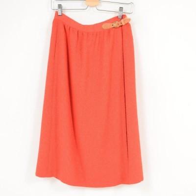 Liz Claiborne ロング 巻きスカート USA製 レディースM /wat7927
