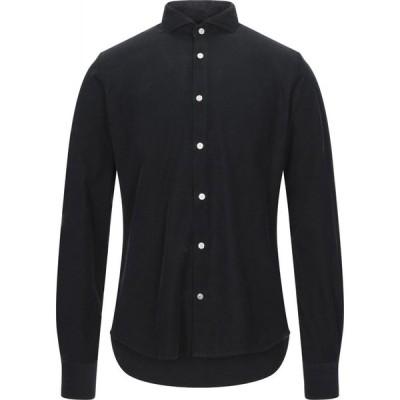イエスズィー バイ エッセンツァ YES ZEE by ESSENZA メンズ シャツ トップス solid color shirt Black