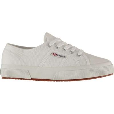 スペルガ Superga レディース スニーカー シューズ・靴 2750 Canvas Trainers White