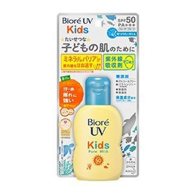 【花王】 ビオレ UV キッズ ピュアミルク 70mL SPF50/PA 顔・からだ用 【化粧品】