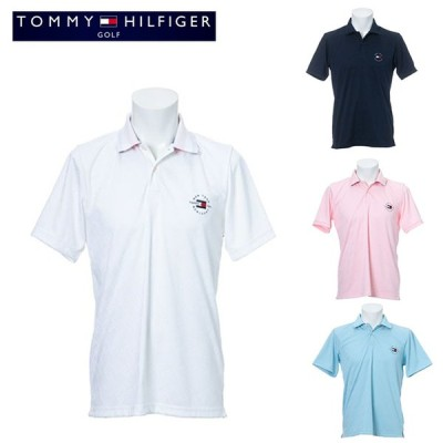 2021 春夏 トミーヒルフィガー WAVYフラッグジャガードポロ【メンズ】 THMA136