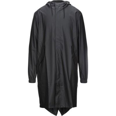 レインズ RAINS メンズ コート アウター full-length jacket Black