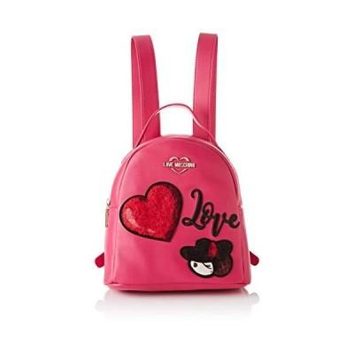 Love Moschino Unisex's Backpack Handbags, Pink (Fuxia), 27x9x24 centimeters (W x H x L)【並行輸入品】