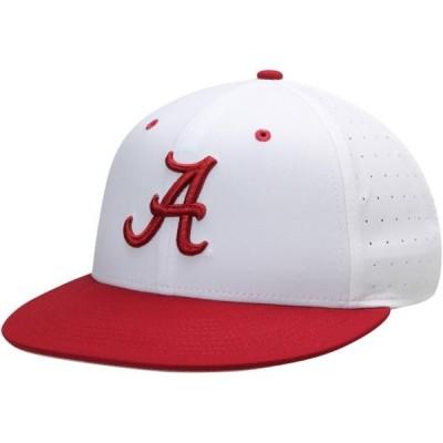 ユニセックス スポーツリーグ アメリカ大学スポーツ Alabama Crimson Tide Nike Aerobill Performance True Fitted Hat - White 帽子