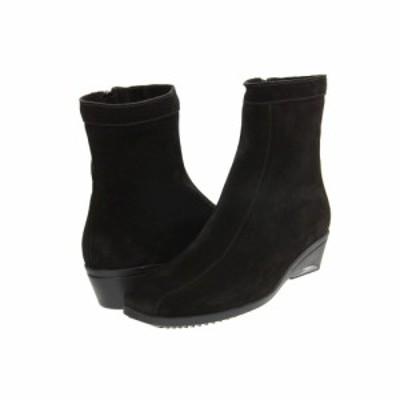 ラ カナディアン La Canadienne レディース ブーツ シューズ・靴 Elizabeth Black Suede