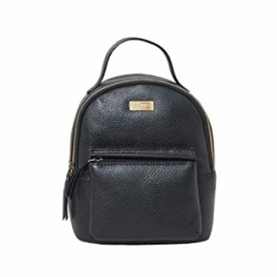 Backpack For Women & Men- Leather Mini Backpack Unisex Bag Bookbag College Bag (Betty Black)
