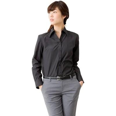 レディース ブラウス 開襟 ブラウス 長袖 半袖 おしゃれ シンプル オフィス/la-02(s2111130223)