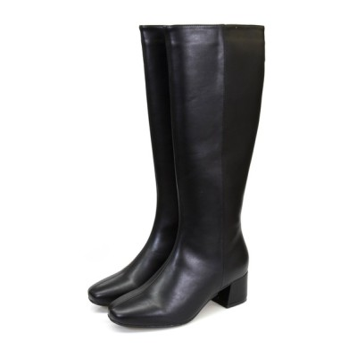 NOFALL sango / スクエアトゥローヒールロングブーツ WOMEN シューズ > ブーツ