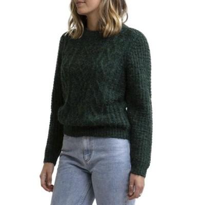 リズム レディース ニット&セーター アウター Rhythm Valley Sweater - Women's Forest