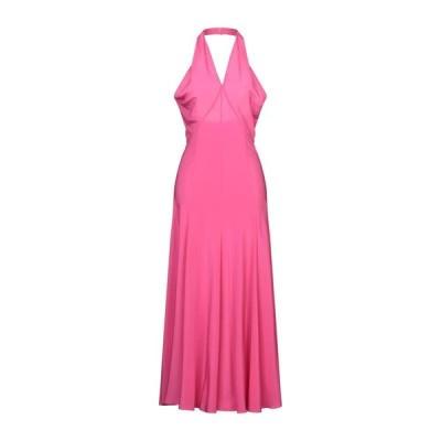ASPESI シルクドレス  レディースファッション  ドレス、ブライダル  パーティドレス フューシャ