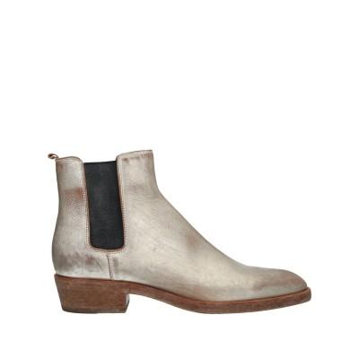 ブッテロ BUTTERO® ショートブーツ プラチナ 42 牛革(カーフ) ショートブーツ