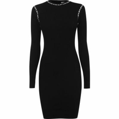 マイケル コース MICHAEL Michael Kors レディース ワンピース ワンピース・ドレス Sleeve Trim Dress Black