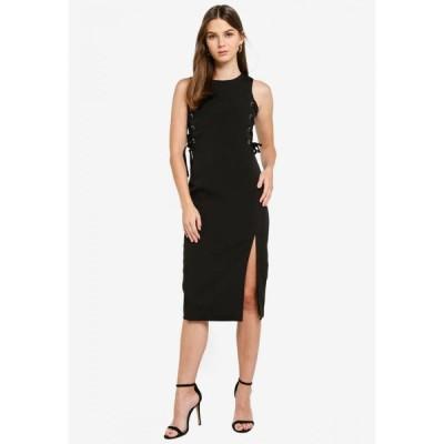 メガネ Megane レディース パーティードレス ミドル丈 ワンピース・ドレス Best Frenz Hilaire Midi Dress Black