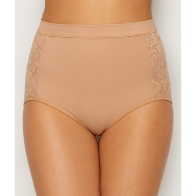 メイデンフォーム レディース インナー・下着 Maidenform Firm Foundations Tummy Tamers Brief Nude/Beige