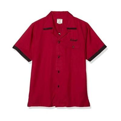 [ヒューストン] Bowling Shirt メンズ 40664 MR 日本 XL (日本サイズXL相当)