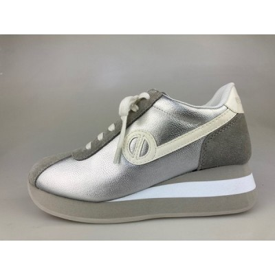 ノーネームNO NAME SPEED ZIP JOG SHADOW シルバー スニーカー 靴